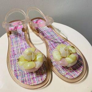 Chanel PVC sandal.